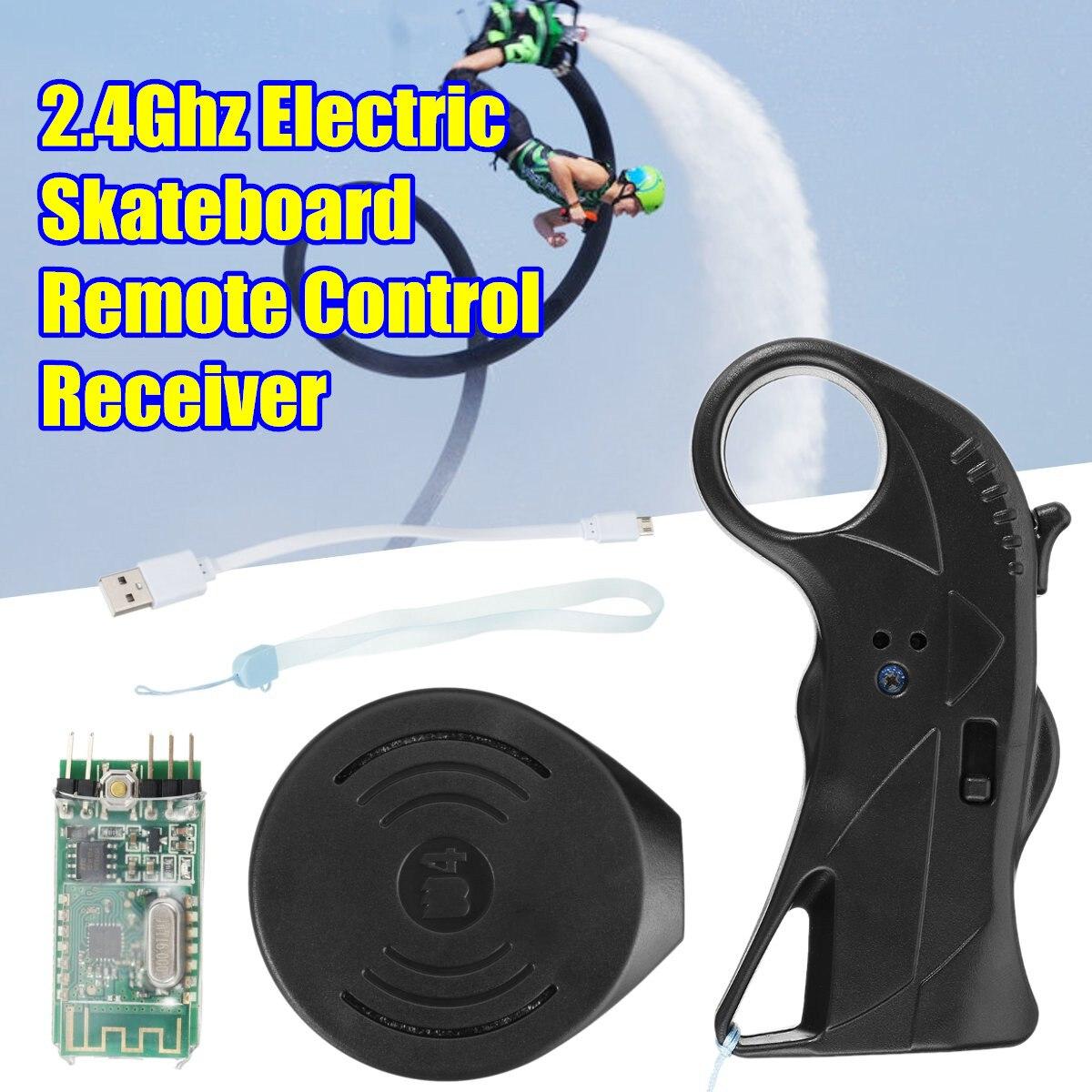 2.4 Ghz télécommande électrique de planche à roulettes avec le récepteur universel pour le Scooter de planche à roulettes de Longboard imperméable - 6