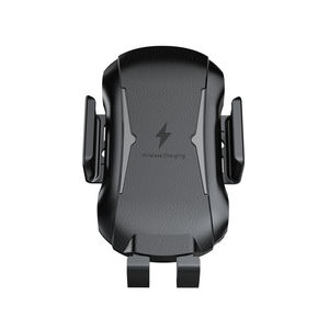 Image 2 - Qi Car Wireless Charger Phone Holder For Ulefone Armor X 6 Power 5 5S Leagoo Power S10 5 Fast Wireless Charging Phone Stand