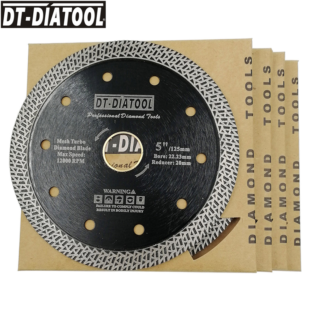DT-DIATOOL 5pcs Diameter 5