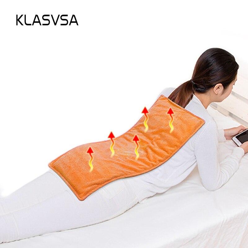 KLASVSA Body Moxa Electric Heating Mattress Neck Sea Salt Thermal Mat Physical Therapy Warm Pad Pain
