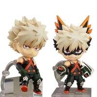 Anime My Hero Academia Boku No Hero Bakugou Katsuki Nendoroid 705# PVC Action Figure Gift Toy Collection