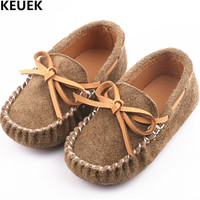 New Baby Toddler Shoes Genuine Leather Boys Girls Bowknot Shoes Children Casual Loafers Moccasins Kids Flats Breathable 03