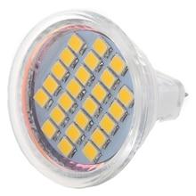 5 x MR11 24 3528 SMD LED Lamp Spot Light Bulbs Warm White 12V