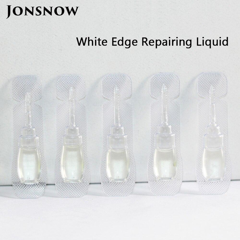 5pcs/lot White Edge Repairing Liquid For 2.5D Arc Edge Tempered Glass Fill Oil Revising Liquid White Edge Eliminate Liquid