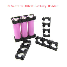 Battery Storage Box 3 x 18650 Battery Spacer Radiating Holder Bracket Electric Car Bike Toy New(China)