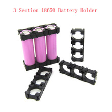 Bracket Storage-Box Radiating-Holder Battery-Spacer Electric 3x18650 New Car-Bike-Toy