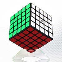 2019 Qiyi Mofangge Qizheng 5*5*5 Magic Cube Puzzle Pädagogisches Spielzeug für Herauszufordern-Weiß
