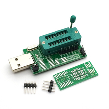 Bios płyta MX25L6405 W25Q64 programator USB LCD palnik CH341 CH341A Progammer przez 24 25 serii