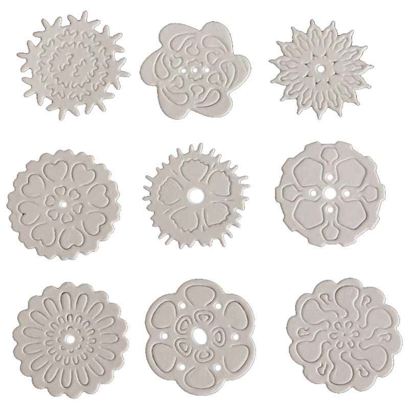 Scrapbooking Punching Machine Blanking Template Embossing Dies Stencils Cutting Cutting Dies, For Sizzix Big Shot And Other Em