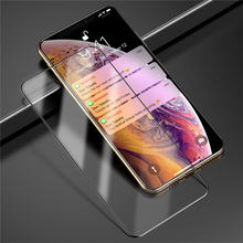 9D Full Cover Tempered Glass For iPhone XR XS Max X Case 8 7 6 6S Plus Screen Protector Film Protective Glass On iPhone 7 Case(China)