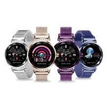 Купить с кэшбэком New Fashion Smart Watch Women Electronic Bracelet Heart Rate Monitor Sleep Tracker Monitoring Smartwatch connect IOS Android