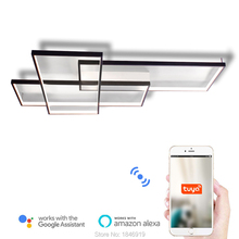 Umeiluce Free Shipping Led Ceiling Light Flush Mounted Lamp Smart Wi-Fi 90-265V 39 Inches Length Lighting for Living Room