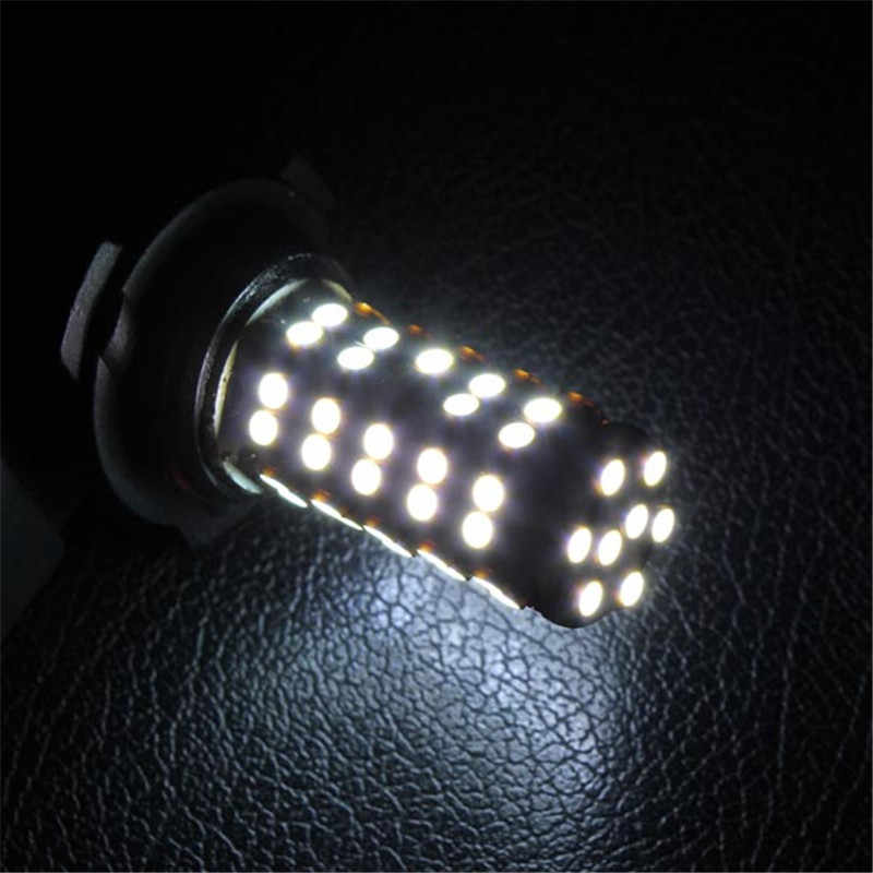 CLAITE DC12V 7000K Energy Saving  Car 9006 3528 SMD 68LED Bulb Head Fog Light Lamp White 5.5W 12V Easy to Install