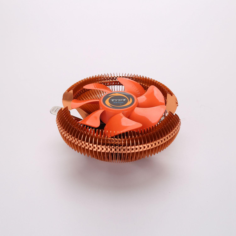Кулер для ПК, охлаждающий вентилятор для процессора Intel LGA775 1155 AMD AM2 AM3 754, вентиляторы для охлаждения процессора, Компьютерный Вентилятор, опт...
