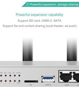 Image 4 - Routeur wifi lte 4g 3g avec emplacement pour carte sim antenne externe 11AC 1000 Mbps 5G double bande répéteur maille couverture 130 mètres carrés