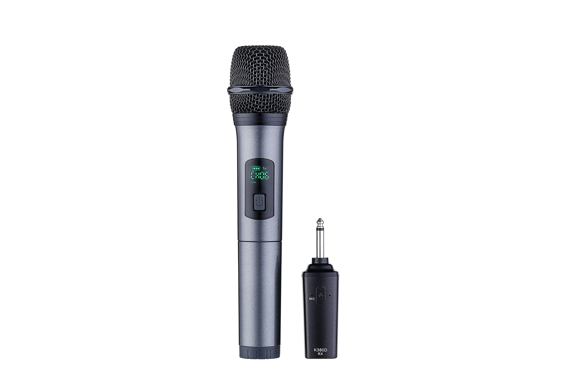 leory k380d 10 channels uhf digital wireless microphone system with one microphone for. Black Bedroom Furniture Sets. Home Design Ideas