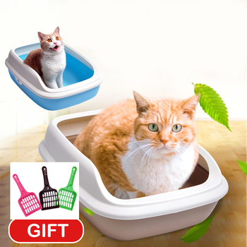 Semi-open Cat Toilet + Scoop