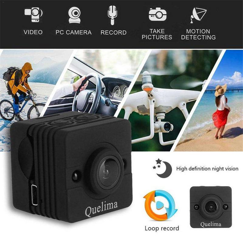 Original Mini Camera WIFI Camera For Quelima SQ12 FULL HD 1080P Night Vision CMOS Sensor Recorder CamcorderOriginal Mini Camera WIFI Camera For Quelima SQ12 FULL HD 1080P Night Vision CMOS Sensor Recorder Camcorder