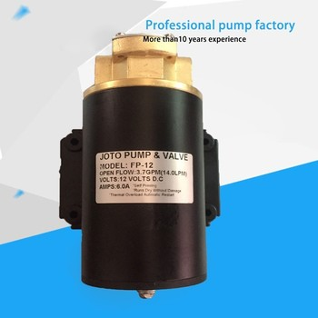 Bomba eléctrica de transferencia de aceite de 12V para polvo de CC de FP-12