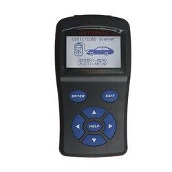 Nowy skaner OBD2 OBDMATE OM520 LCD OBDII/EODB skaner diagnostyczny samochodu OBD 2 interfejs OM520 OBD 2 II automatyczne narzędzie diagnostyczne