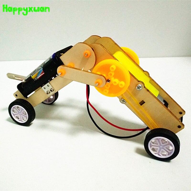 Happyxuan Kids DIY Electric Project Kits Robot Construction Sets Worm Educational Science Toys STEM School Boys Birthday Gift