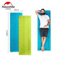 Naturehike Clearance Price Big Discount Outdoor Ultralight Inflatable Camping Mat Waterproof Sleeping Pad Picnic Folding Mattres