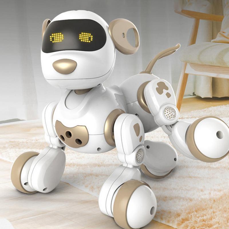 Robot télécommandé animaux de compagnie électroniques chien jouet interactif chiot intelligent Robot jouets pour enfants - 3