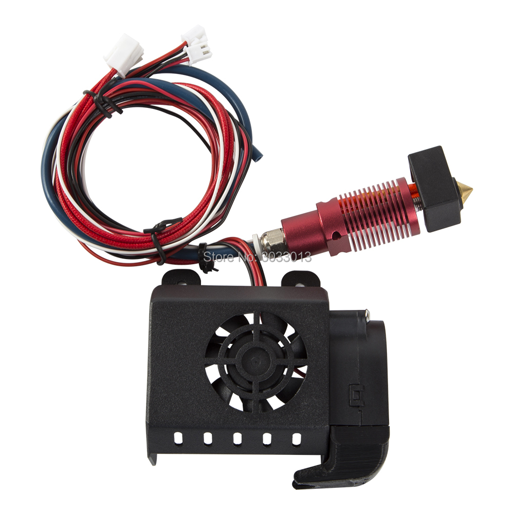 Full Assembled Extruder Kits Fan Cover Air Connections Nozzle Kits 3D printer part for CR 10S