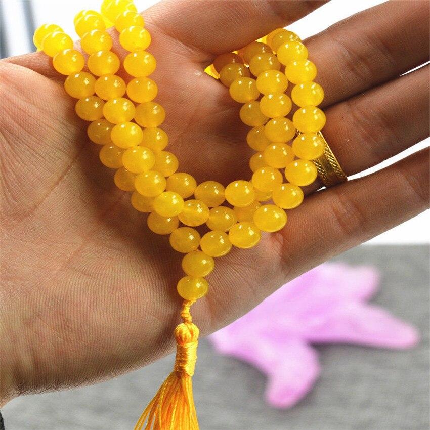 Einfach 6mm 108 Stein Brasilien Perlen Armband Halskette Spiritualität Kette Yoga Armband Unisex Venen Natürliche Buddhismus Beten Handgemachte Den Menschen In Ihrem TäGlichen Leben Mehr Komfort Bringen