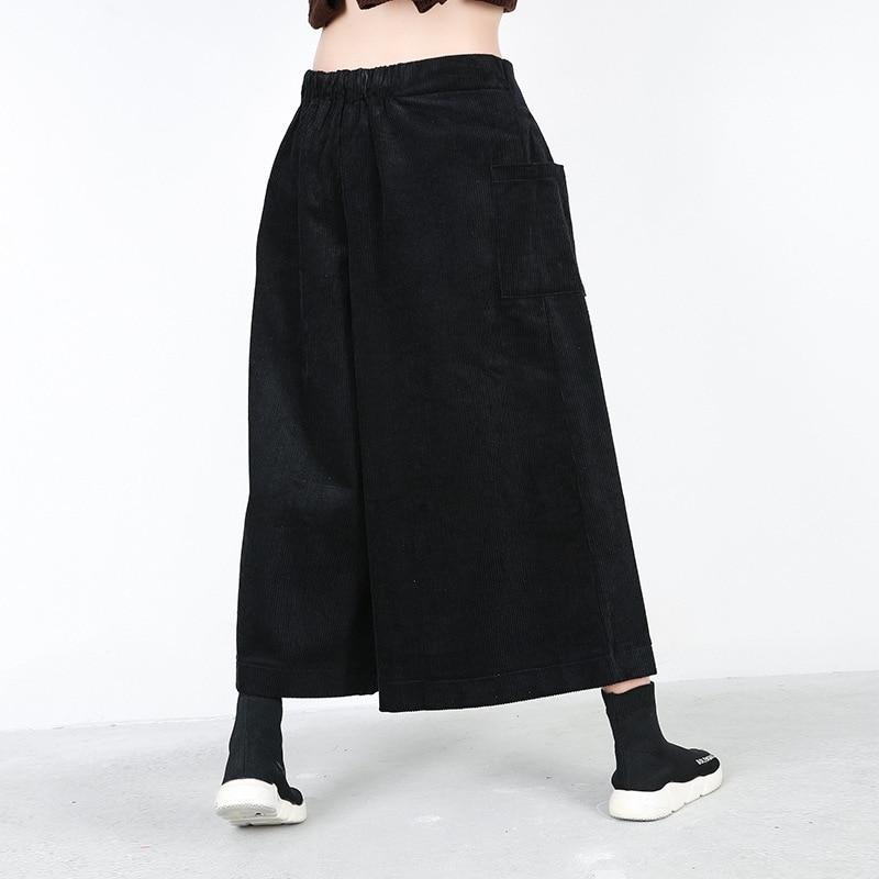 Gran Pantalones Estilo Mujer Mujeres Negro Acampanados Rqueena caqui caqui Las 2019 De Amplia Negro Pc010 Tamaño Primavera Suelta Europeo Para wYnxwvOBqp