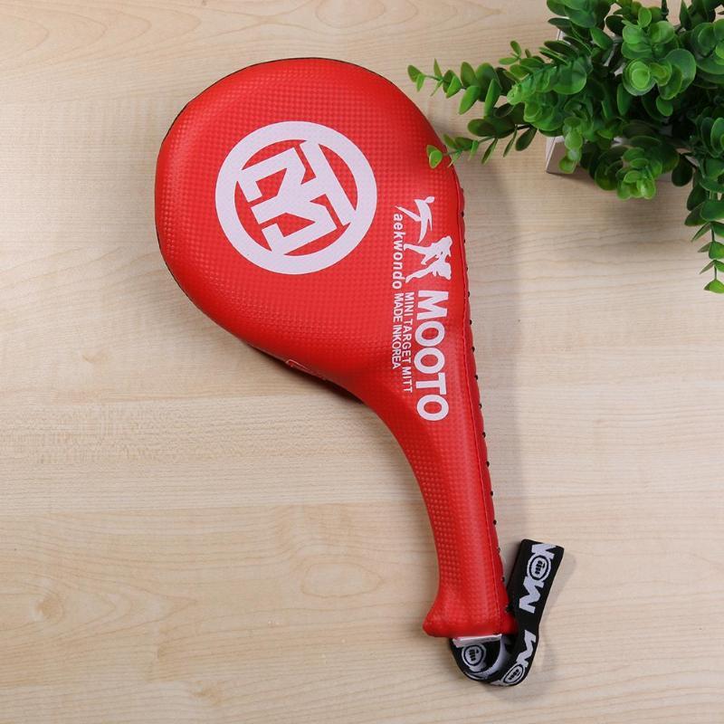 Farabi Taekwondo TKD Paddle Racket Hand Karate Kick Boxing Strike Pad Martial Art Target Pad x 1/unit/à
