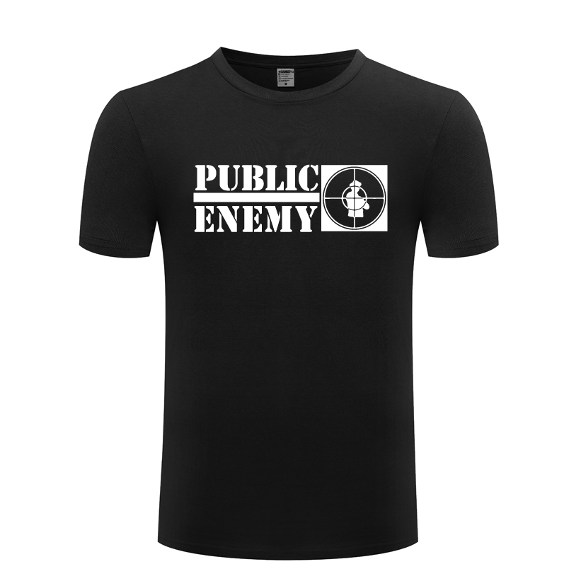 Public Enemy Rock Music Men's   T  -  Shirt     T     Shirt   Men 2018 New Short Sleeve O Neck Cotton Casual Top Tee