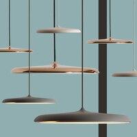 Gladsaxe Flying saucer Art Deco Modern nordic pendant light for Restaurant study room corridor lighting Hotel hanging lamp