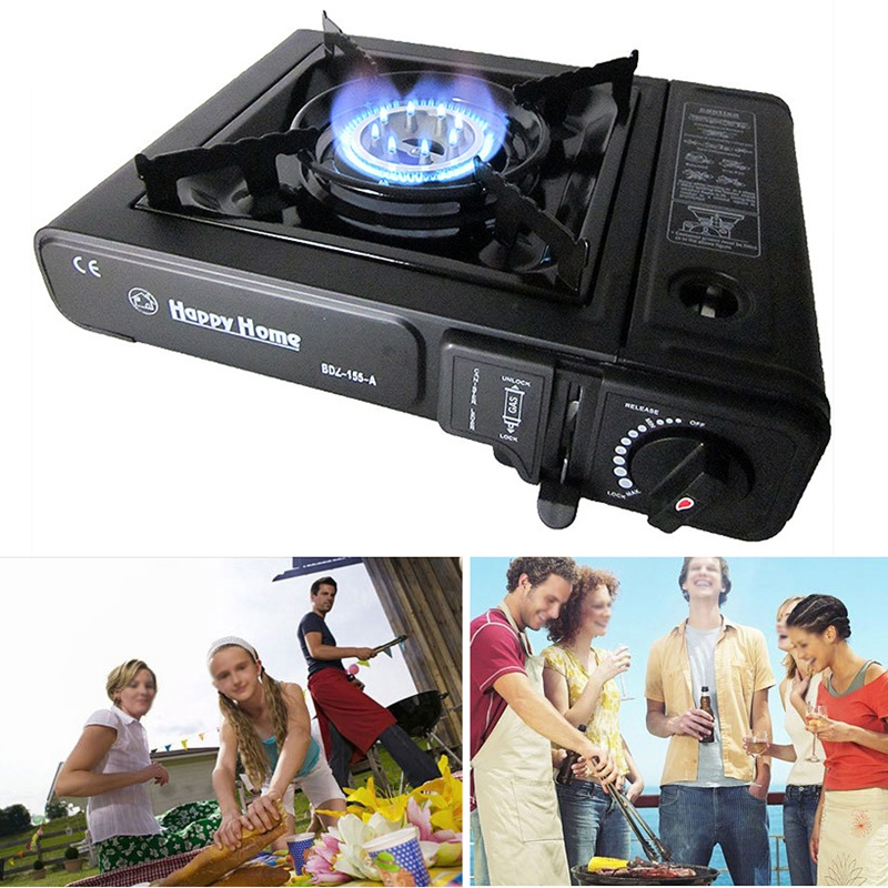 Outdoor Portable Cassette Gas Stove Camping Hiking Travel Cooker
