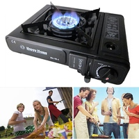Outdoor Portable Cassette Gas Stove Camping Cassette Gas Stove Camping Hiking Travel Cooker