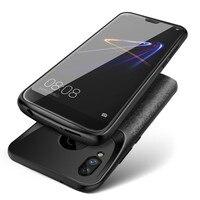 Silicone Novo Caso Carregador de Bateria Para Huawei P20 P30 Lite Nova 3e Honra 10 8 9 Carregamento Tampa Traseira Externa banco Do poder|Estojos p/ carregador de bateria| |  -