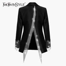 TWOTWINSTYLE ฤดูใบไม้ผลิ Backless Heavy