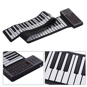 Image 5 - Portable Electric 88 Keys Hand Roll Up Piano Multifunction Digital Piano Keyboard Built in Speaker Rechargeable Lithium Battery