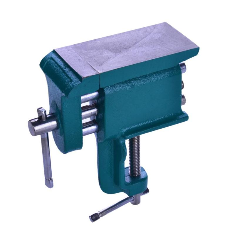 Table Vice Bench Vise Swivel Base Workshop Clamp Jaw Table Clamping Machine High Quality Bench Vises for Woodworking Dropship