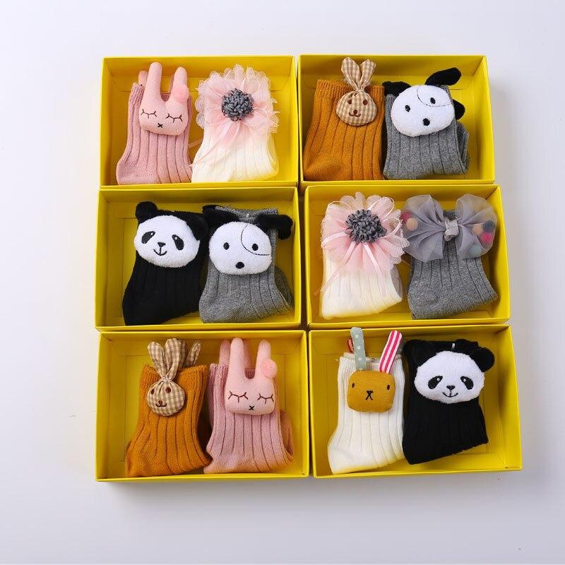 Pudcoco Marke Neue Lot 2 Pairs Kind Baby Kleinkind Junge Socken Baumwolle 0 Zu 5y Nette Mädchen Neugeborenen Kinder Einen Einzigartigen Nationalen Stil Haben