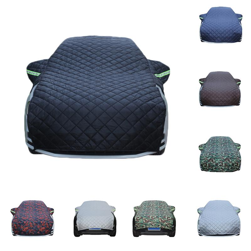 Thickened Cotton Car Cover Winter Snow Protection Anti Frost Wear Resistant Car Cover