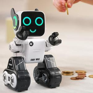 Image 2 - Cute Remote Control Intelligent Robot Toy Voice Activated Interactive Recording Sing Dance Storytelling RC Robot Toy Kids Gift