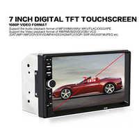 7 pulgadas 2 DIN Car Audio estéreo reproductor de pantalla táctil de Video del coche MP5 reproductor de conexión bluetooth LED/LCD pantalla colorida