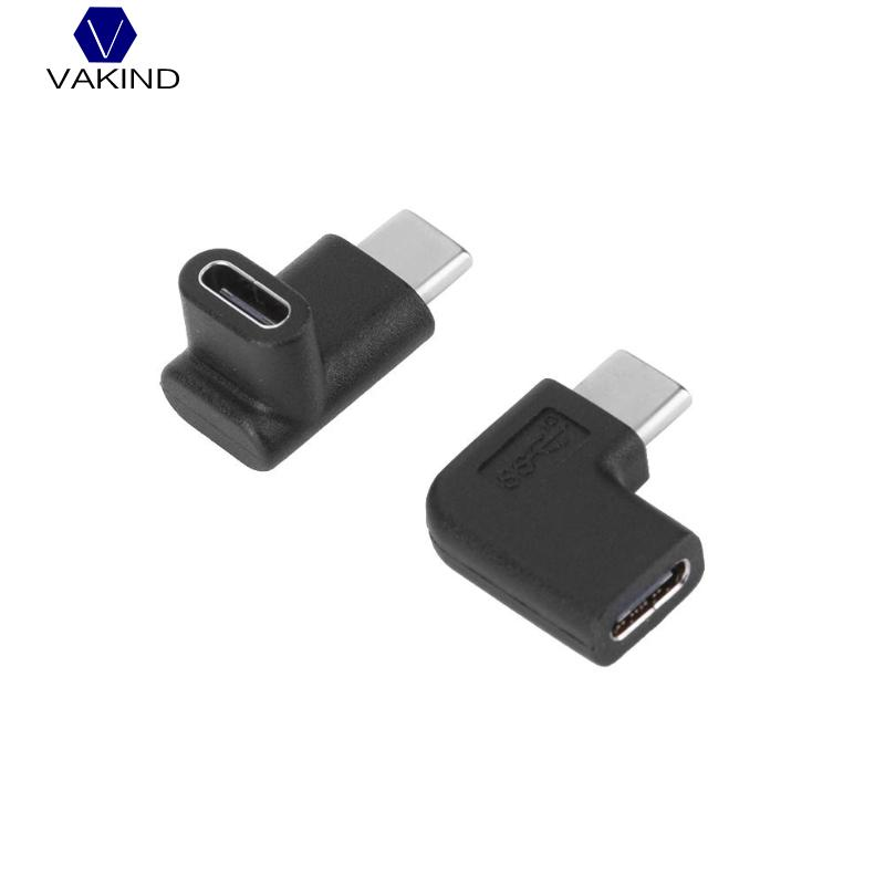 Symbol Of The Brand 90 Degree Right Angle Usb 3.1 Type C Male To Female Usbc Converter Adapter Drop Shipping Back To Search Resultscomputer & Office