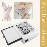 48W Nail Dust Collector Manicure Machine Pull Out Filter Professional Powerful Vacuum Cleaner