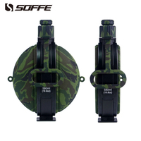 Soffe Camouflage Portable Silicone Foldable Collapsible Sport Water Bottle 580ml Military Bpa Free Water Bottles Shaker Protein