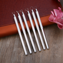 6pcs Sculpting Tools Clay Sculpting Wax Carving Pottery Tools Polymer Ceramic Modeling Kit Modeling Clay Tools High Quality