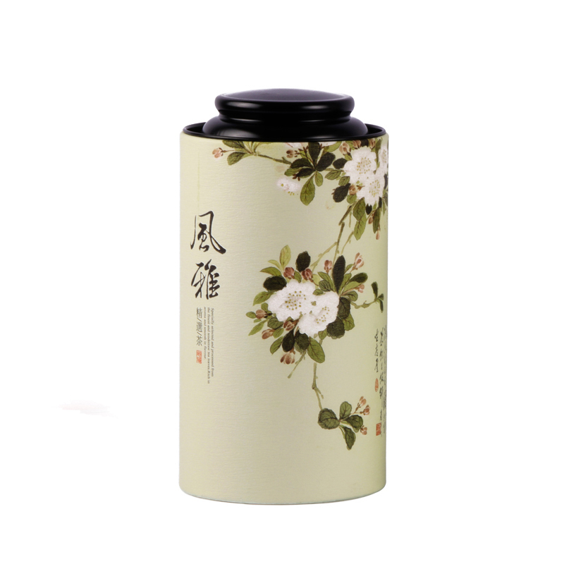 Xin Jia Yi Packaging Paper Peng Box Round Shape Chinese Styles Wine Gift Box Hot Sale Candle Large Size Paper Box