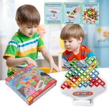 Balance Stacking Game Push the Tower Higher Building Blocks Balancing Fidget Educational Toys For Children Games Kids Gift