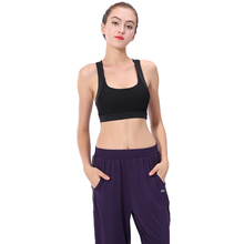 Sports Bra High Stretch Breathable Top Fitness Women Padded for Running Yoga Gym Seamless Crop P25